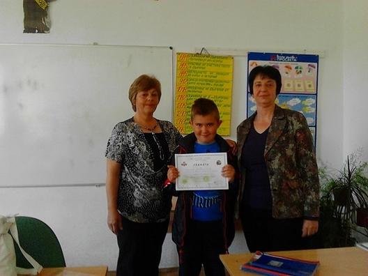 3-то място за рудоземски ученик в математическо състезание