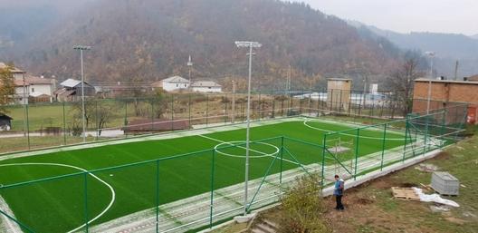 Новоизграденото игрище в кв. Възраждане