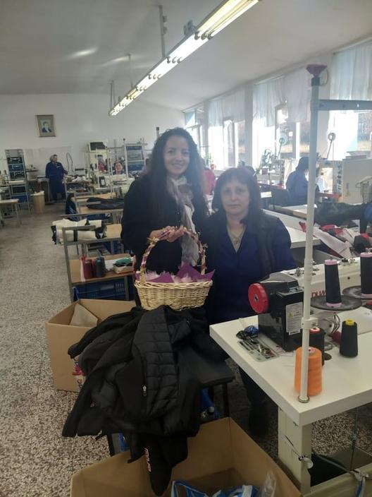 """Днес д-р Незиха Хутева отбеляза празника заедно с жените работещи в """"Диел Спорт"""""""