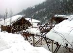 Следите от снежното бедствие по пътя Рудозем-Елховец-Витина