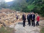 Кандидат-депутати от ДПС инспектираха строежа на детската градина във Войкова лъка
