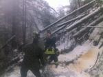 Единственият жител на с. Дъбова беше изваден от снежната блокада