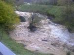 Обзор на щетите в Корита и Пловдивци - отнесени мостове и пътища