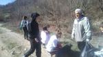 Жители на две рудоземски села почистиха нерегламентирано сметище в началото на село Пловдивци