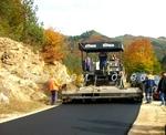 Рехабилитацията на пътя в село Грамаде (галерия)