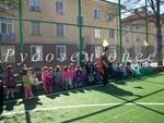 Галерия от спортния спектакъл с участието на възпитаниците на детските градини в общината