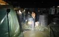 Бликна вода от сондажа за минерална вода в Рудозем