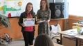 """Ученичка от Елховец спечели първото място в общинския етап на Международния конкурс """"С очите си видях бедата"""""""