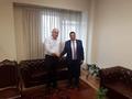 Областният управител Недялко Славов гостува на гръцкия си колега Христос Метиос