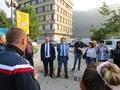 Славов предложи на протестиращите обществен мониторинг върху укрепителните дейности на срутището край Тикале