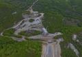 Вижте строителството на пътя Димарио - Елидже от птичи поглед (снимки)