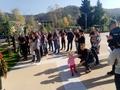 Ученици и учители от СУ,,Св.св. Кирил и Методий''  град Рудозем се включиха в тържествата по случай 107 години от освобождението на Родопите