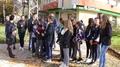 """Средно училище """"Свети свети. Кирил и Методий"""" – гр. Рудозем проведе инициатива, организирана по повод Световния ден за възпоменание на жертвите от ПТП"""