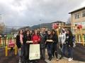 Ученици от рудоземската гимназия зарадваха децата от ДКДМУ ,,Слънце'' град Рудозем