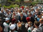 Кметът на Бурса Реджеп Алтепе посети джамията на село Чепинци