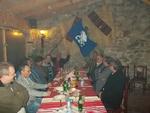 Активисти на СДС развяха знамето на приятелска среща с бившият народен представител Веселин Чолаков