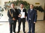 На празника на МВР наградиха рудоземчанин за граждански принос в борбата с престъпността