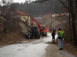 Уширява се опасният завой на излизане от Рудозем в посока Чепинци