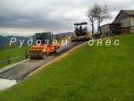 Стартира асфалтирането на последния участък от главния път в Оглед