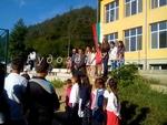 Избрани кадри от първия учебен ден в ОУ-Елховец