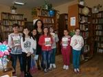 Между 80 и 100 малчугани посетиха рудоземското читалище в седмицата на книгата