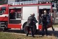 Рудоземските огнеборци се отзоваха на две произшествия през август