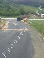 Жителите на Хаджарско вече минават по асфалтиран път